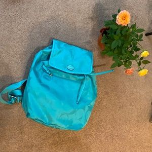 Coach backpack rare Tiffany blue💎💎